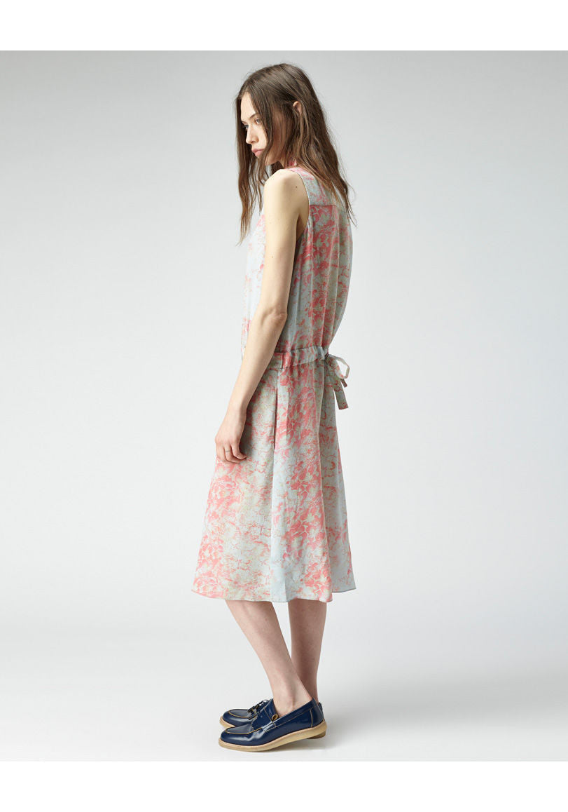Etched Floral Shirtdress