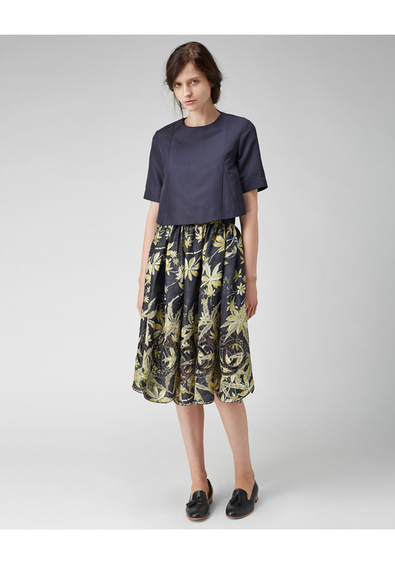 Golden Leaves Skirt