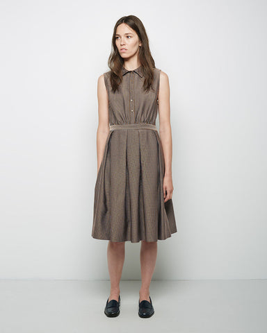 Inverted Pleat Dress