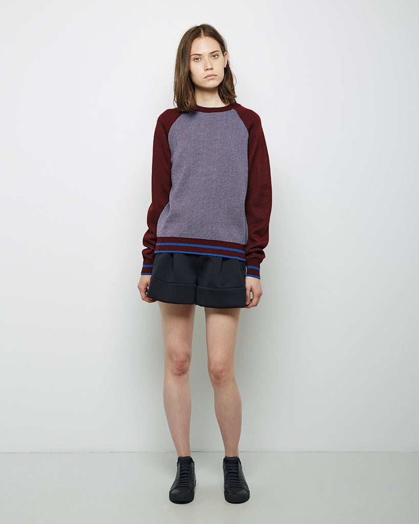 Optical Knit Raglan