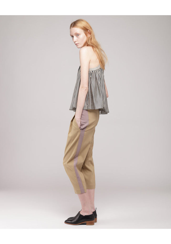 Yoke Pleated Tank