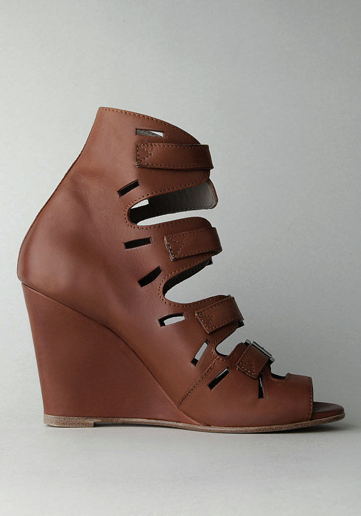 Wedge Buckle Sandal