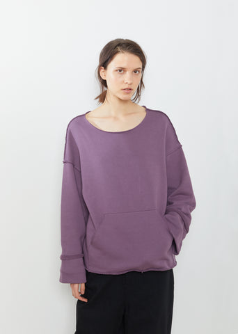 Cuffed Long Sleeve Cotton Tee