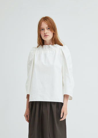 Rhapsodie Standing Collar Blouse