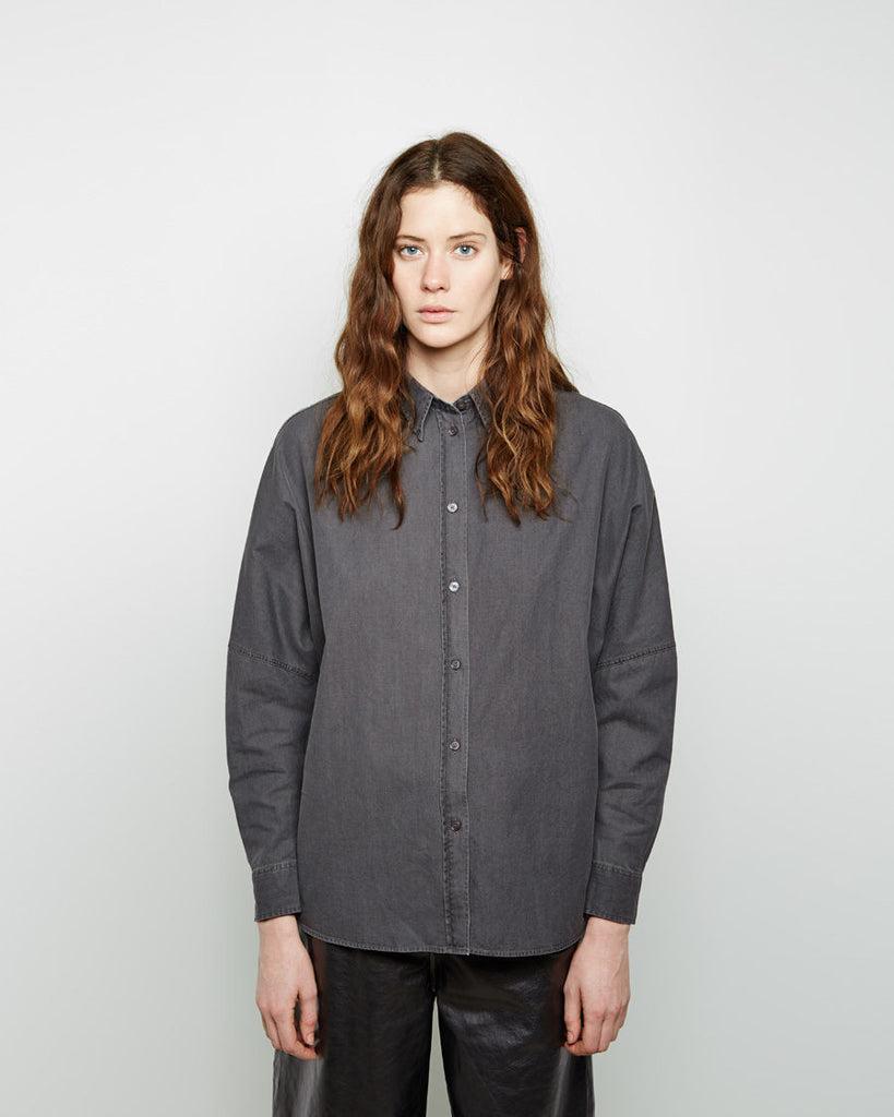 Jetson Oversized Denim Shirt