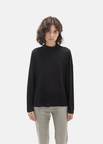 Lorma Tencel Jersey Turtleneck
