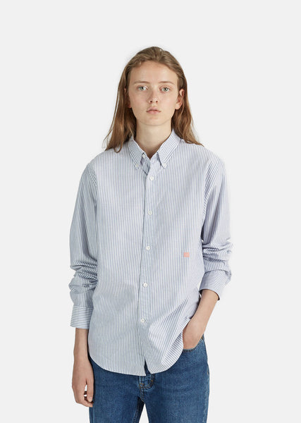 Ohio Face Striped Cotton Shirt