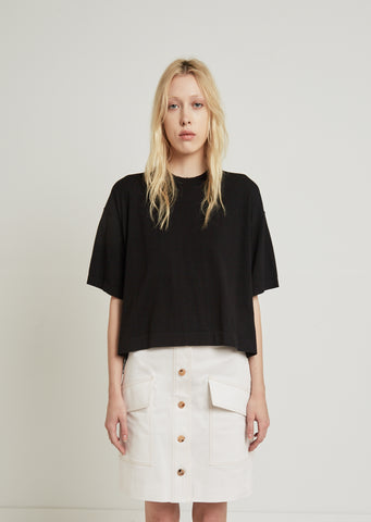 Lylyt Crepe Knit Top