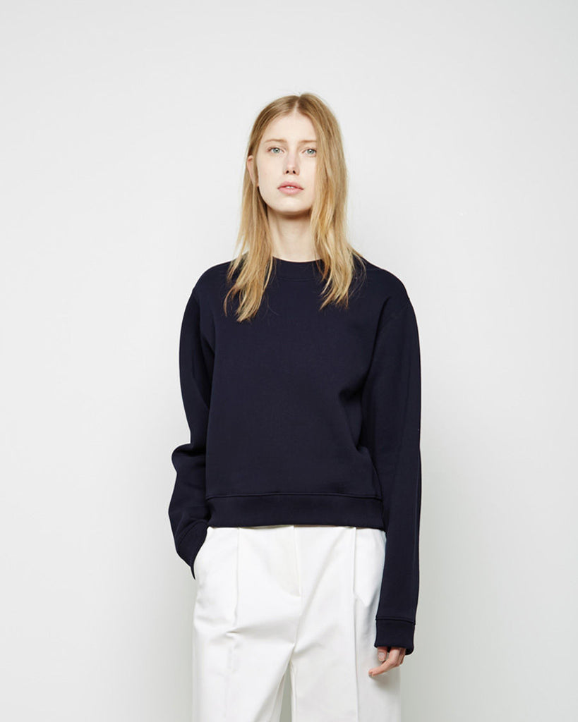Bird Fleece Cropped Pullover