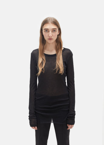 Shiloh Long Sleeve Ribbed Tee