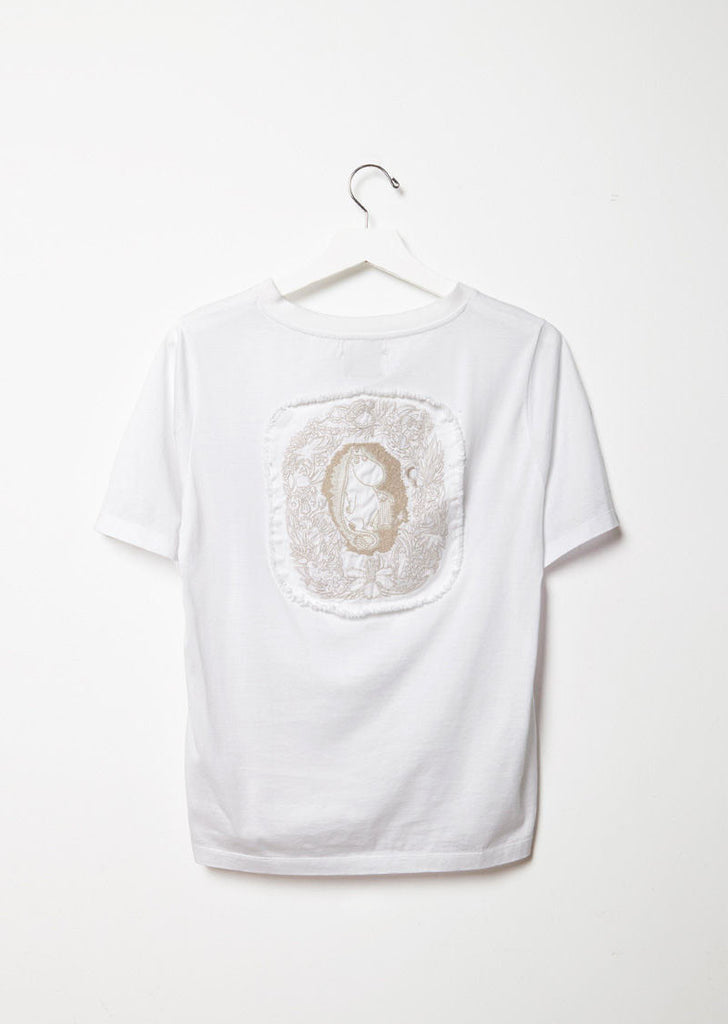 Moomin Back Embroidery Tee
