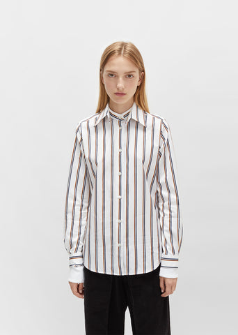 Double Sleeved Stripe Shirt