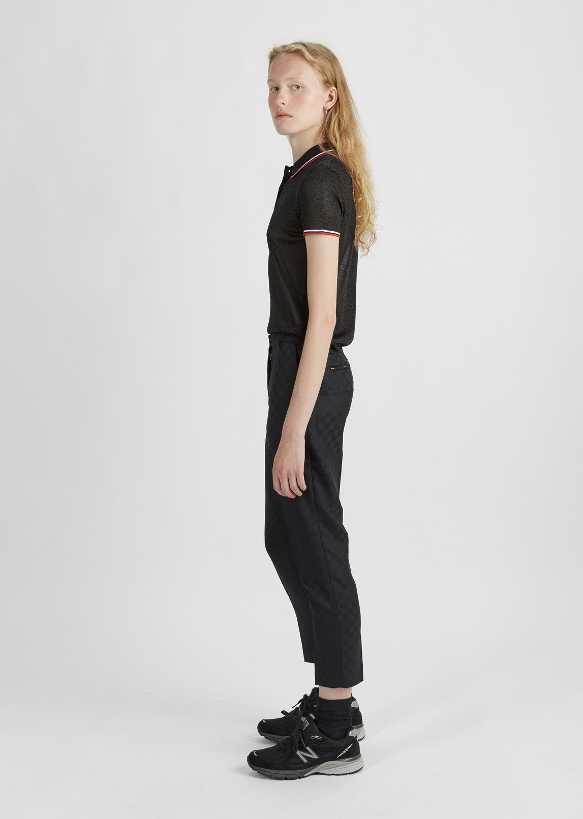 Cropped Skater Pant