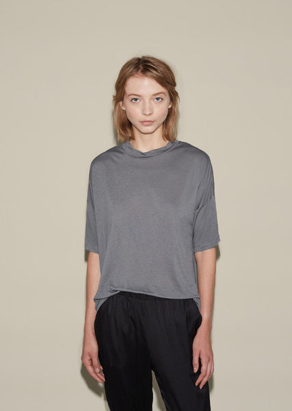 T by Alexander Wang Drop Shoulder Tee La Garconne