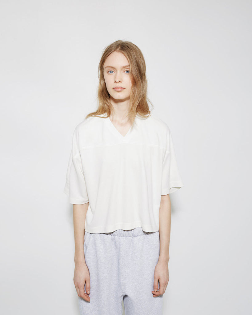 Cropped PiquŽ Tee