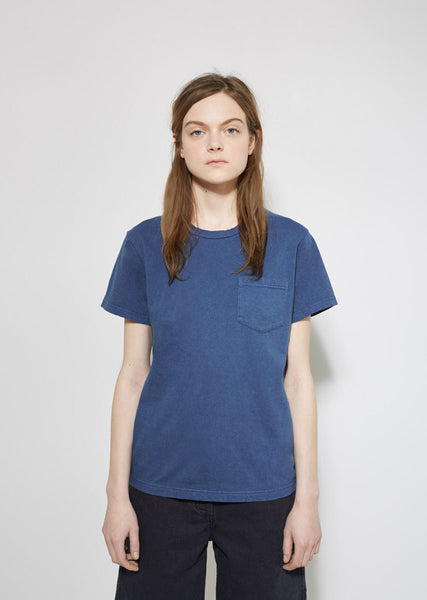 BLUE BLUE JAPAN Pocket Tee La Garconne