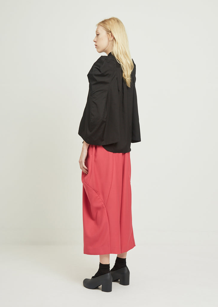 Doeskin Wide Leg Pants