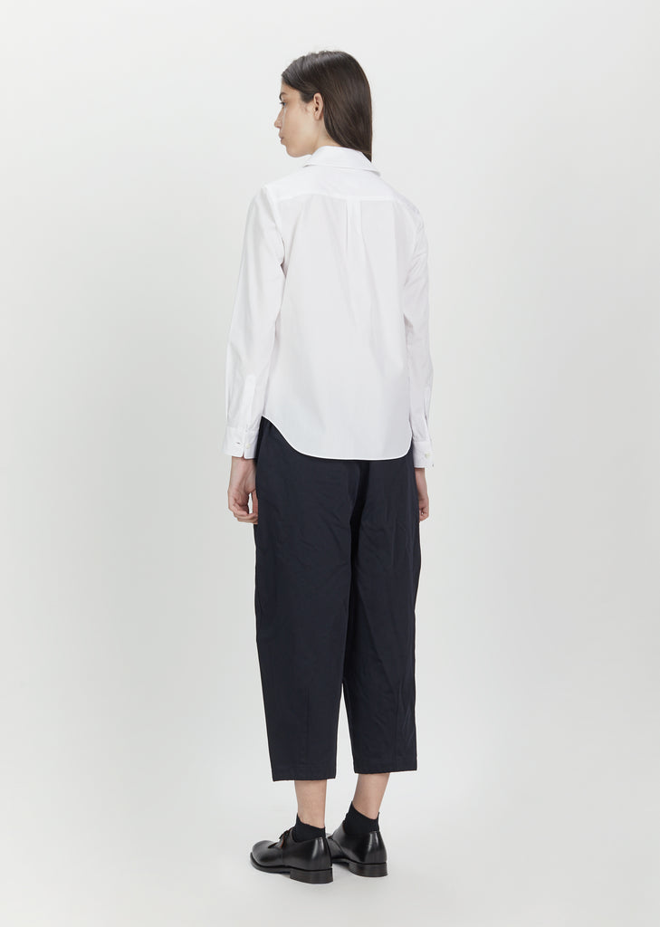 Drawstring Wide Leg Trousers