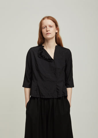 Spun Broad Garment Treated Top