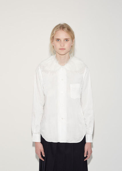Fur Collar Shirt