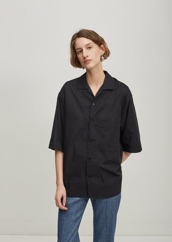Wide Sleeve Button Down Shirt