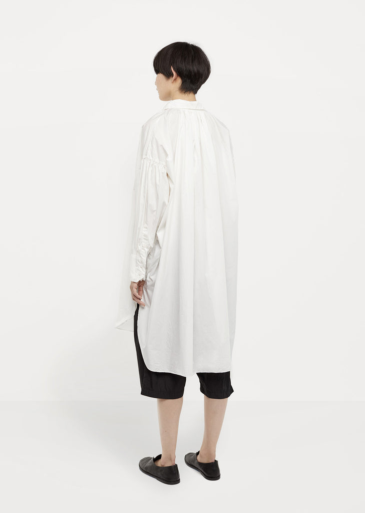 Oversized Ruched Top