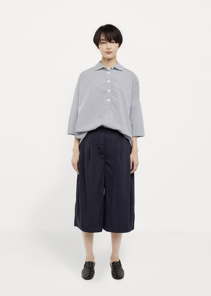 Cotton Poplin Culotte