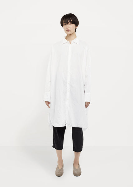 Oversized Dolman-Sleeve Shirt