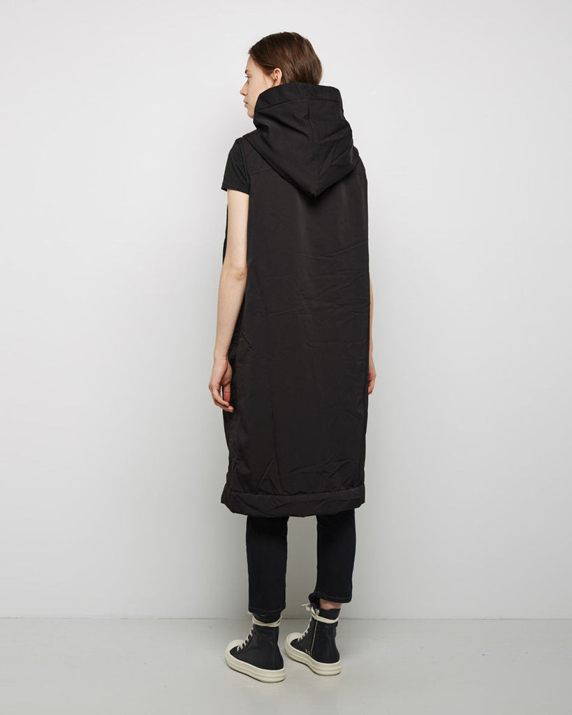 Hooded Quilt Lined Vest