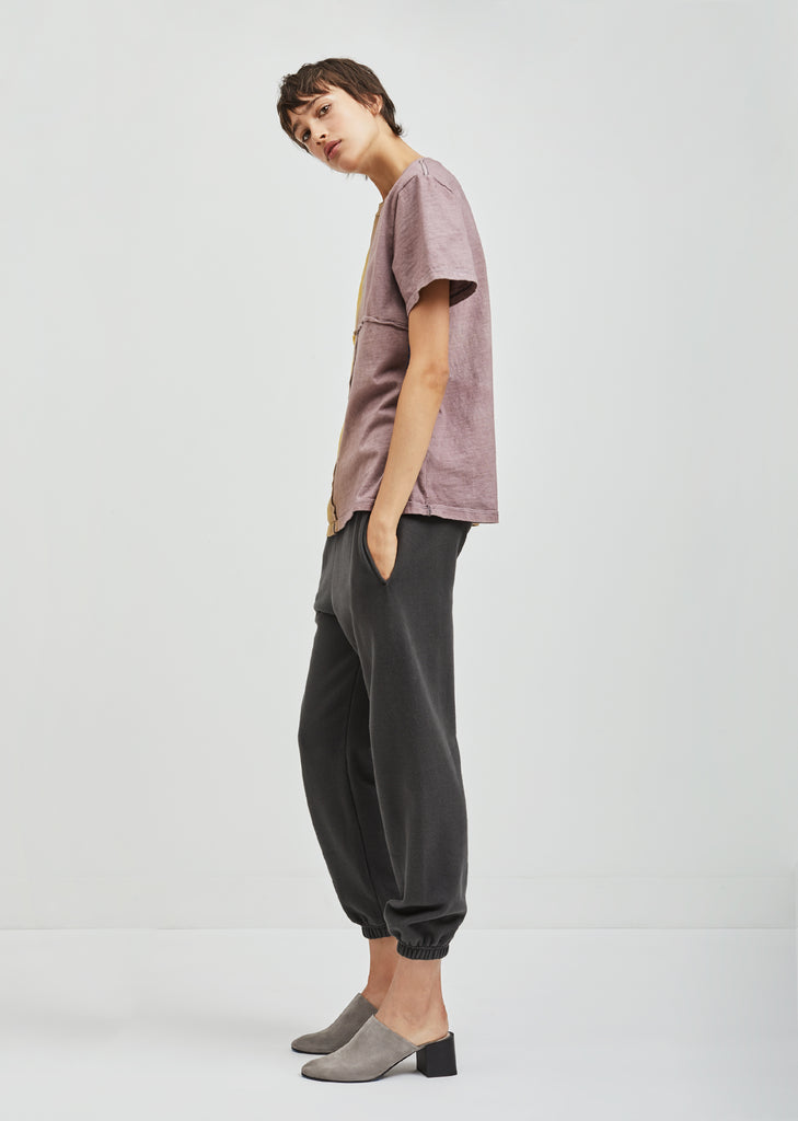 Two Tone Lapped Tee