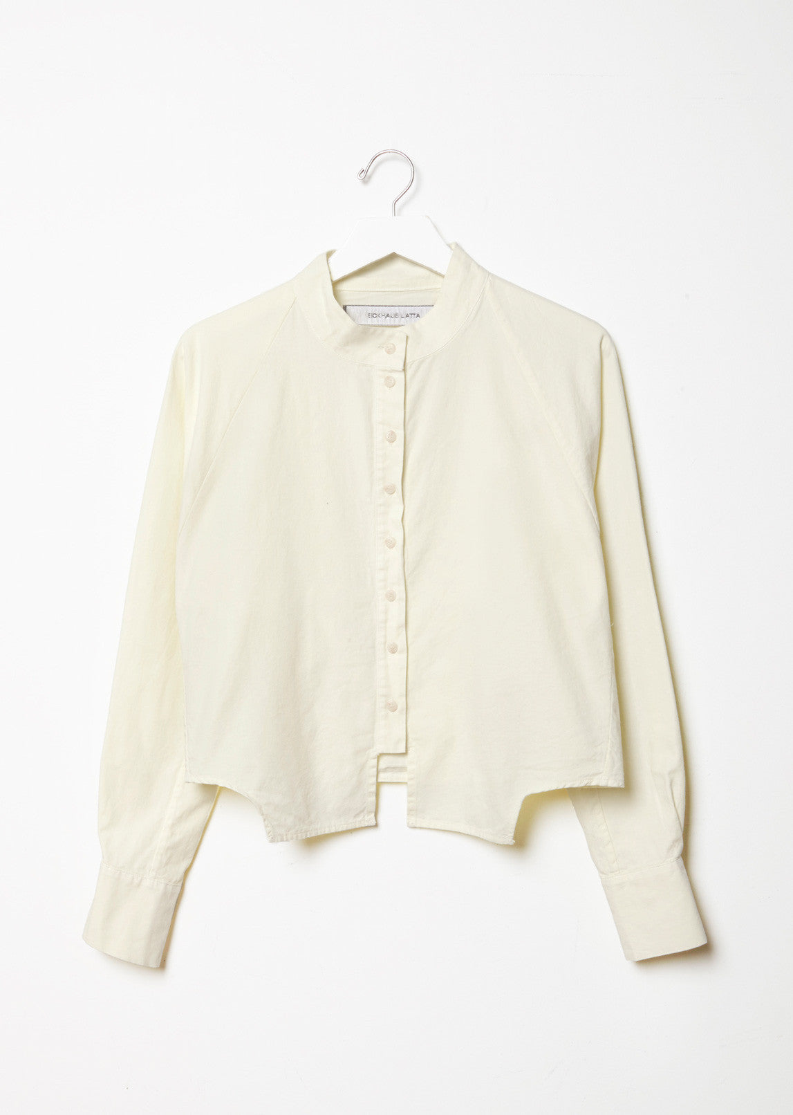 Cropped Button Down Shirt