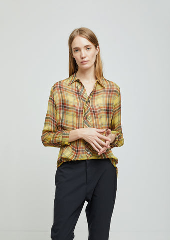 Icon Viscose Button Down Shirt