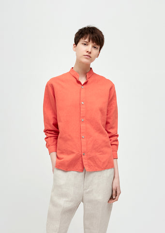 Daze Collarless Shirt