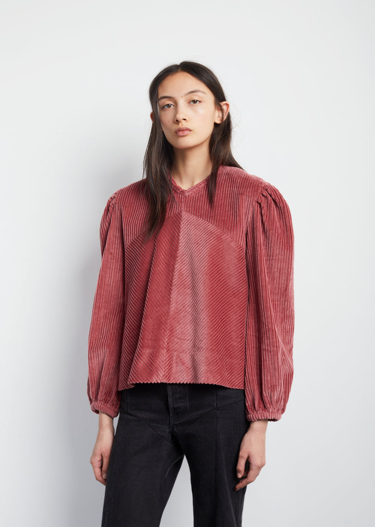 Riley Velvet Top