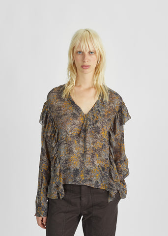 Jelby Ruffled Blouse