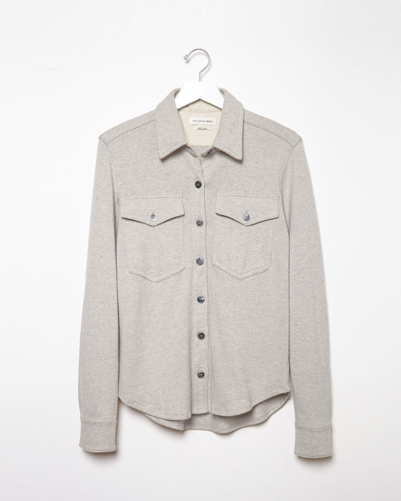 Nathan Double Pocket Knit Shirt