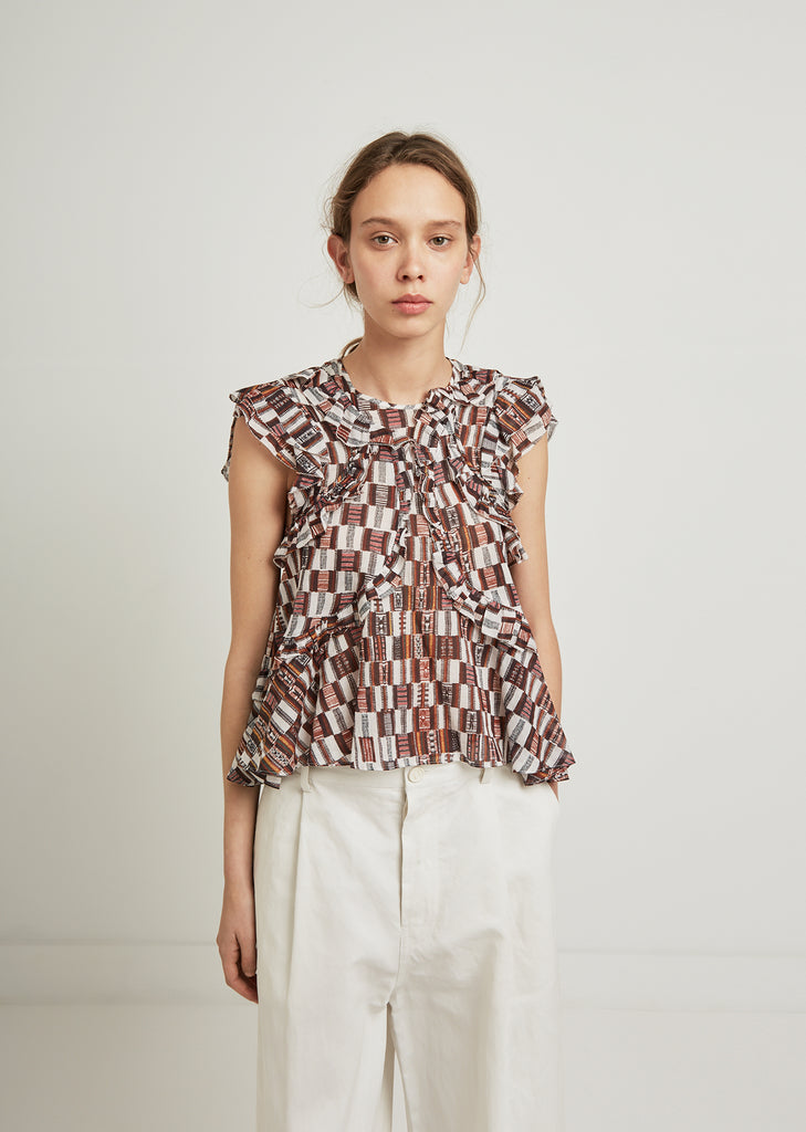 Sale alerts for  Nalou Printed Top - Covvet
