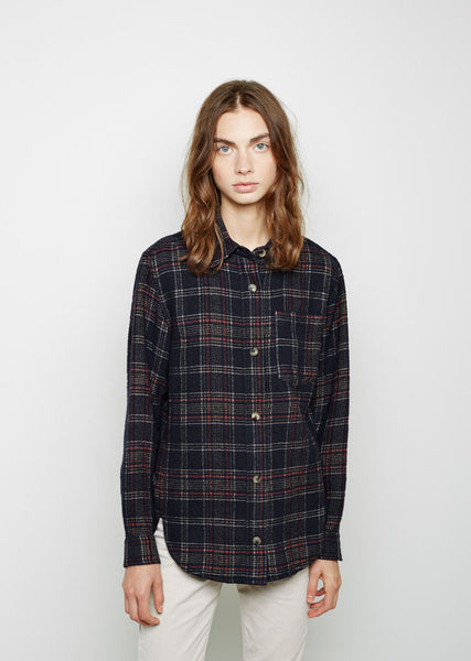 Kenzie Wooly Check Shirt