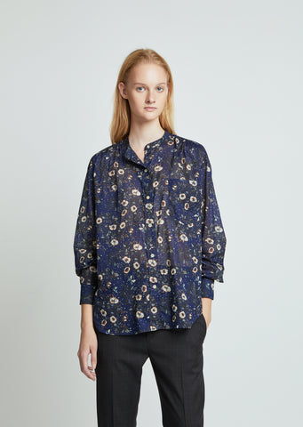 Mexika Printed Button Down