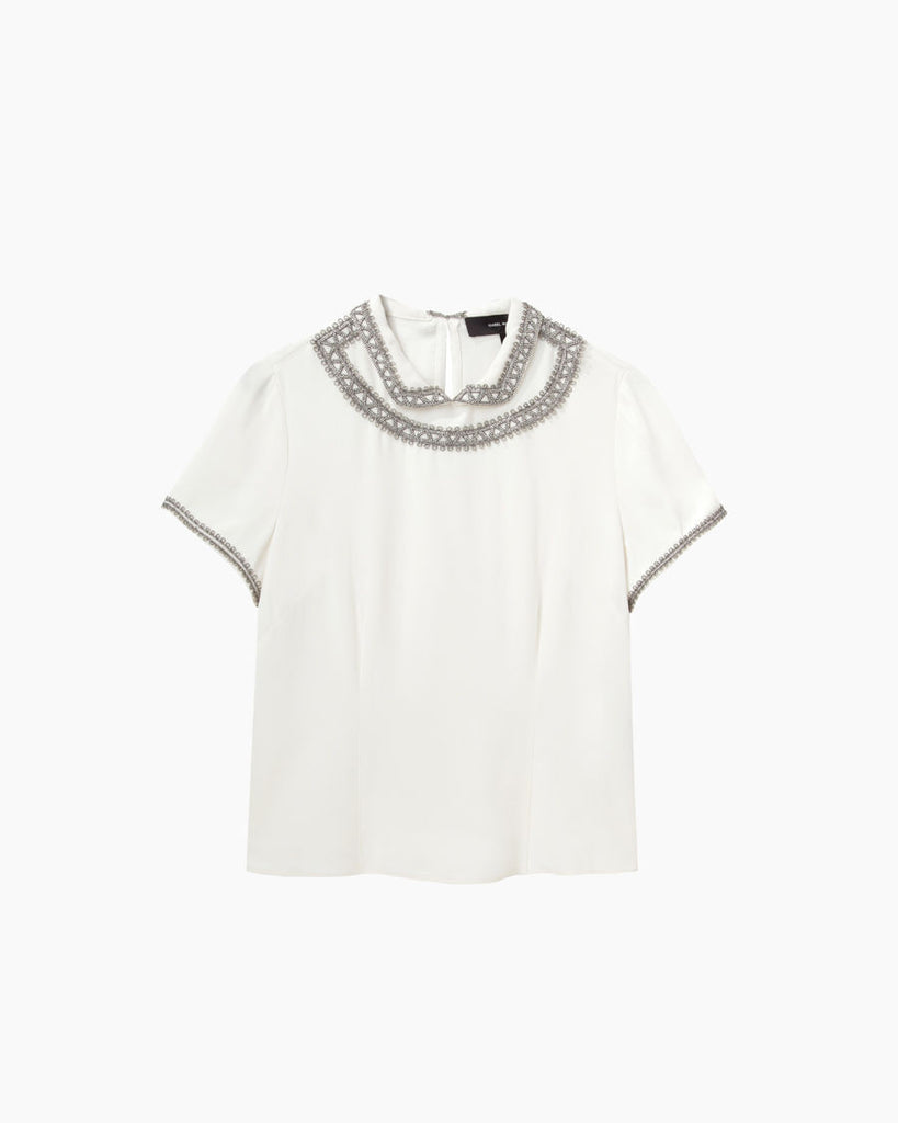 Vallory Beaded Top
