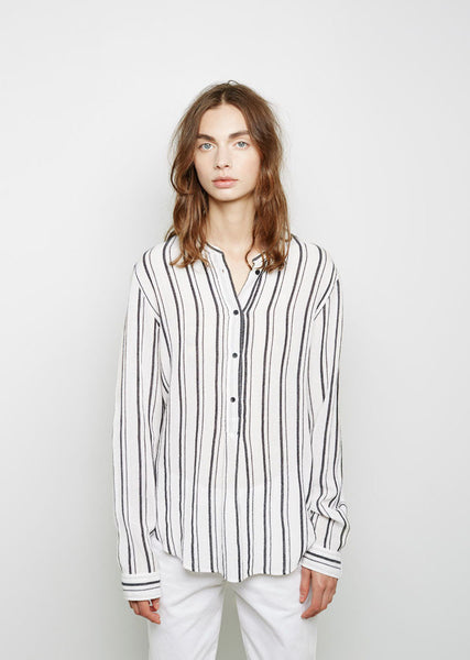 Isabel Marant Udena Striped Shirt La Garconne
