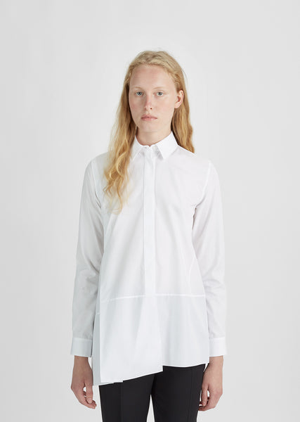 Diana Cotton Poplin Shirt