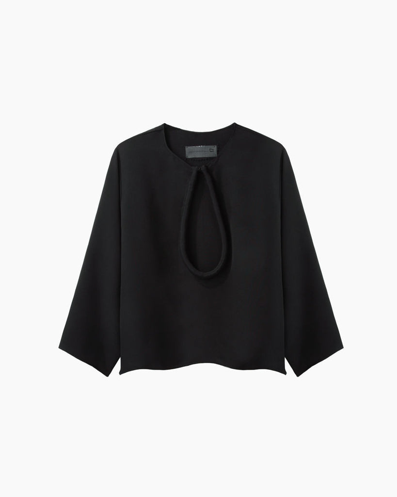 Silk Loop Top