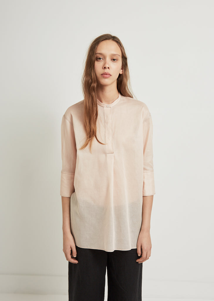 Elicia Stand Collar Shirt