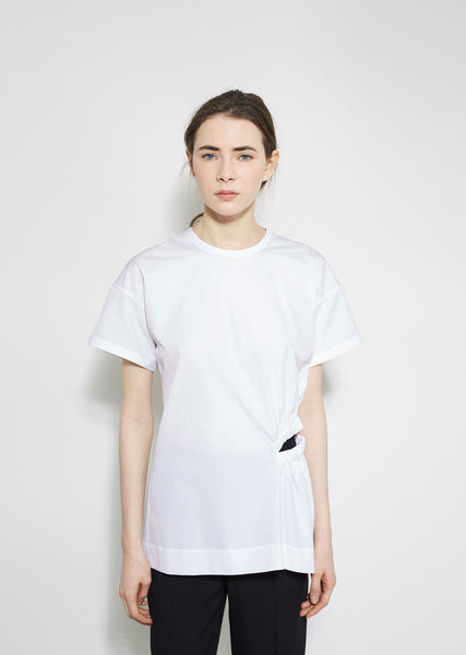 Jil Sander Ali Cut Out Blouse La Garconne