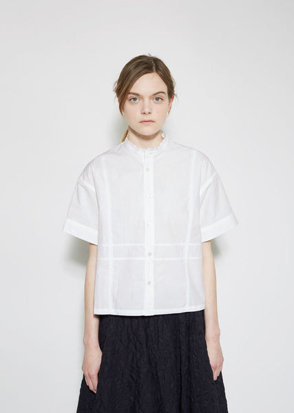 JULIEN DAVID Washed Cotton Shirt La Garconne
