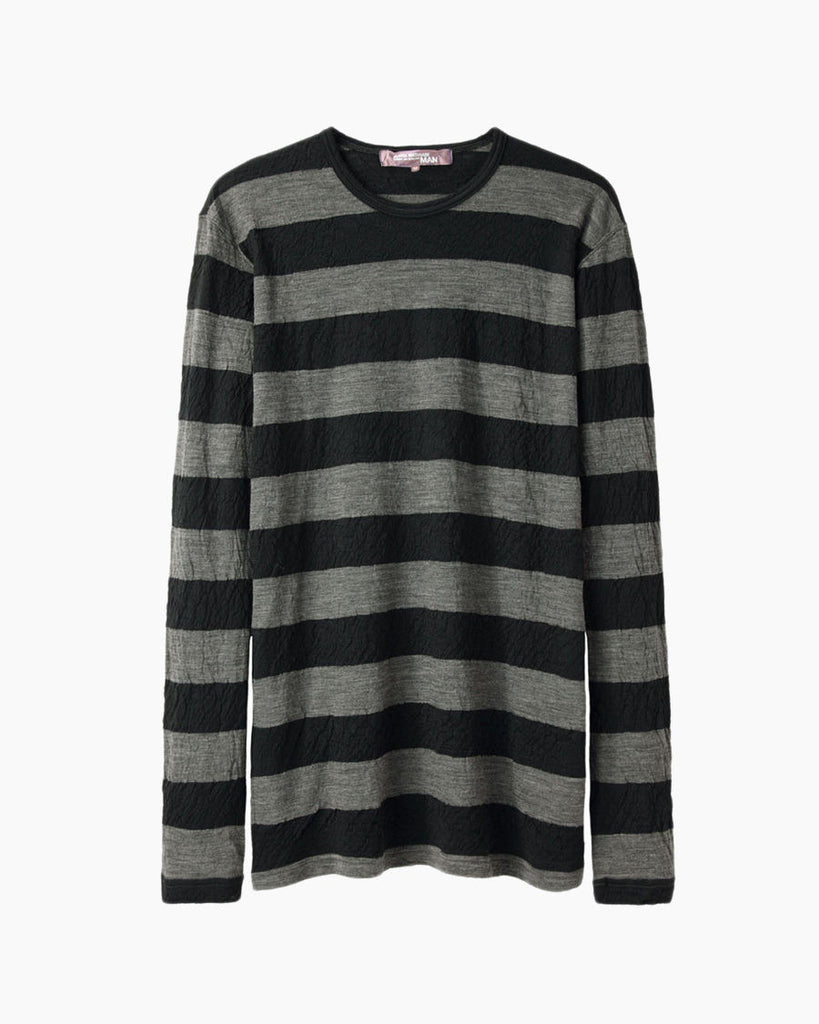 Wool Jersey Stripe Top