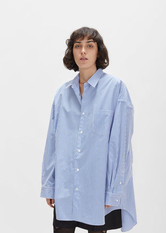 Cotton Pinstripe Shirt