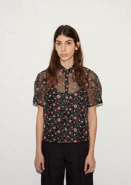 Kolor Flower Blouse La Garconne