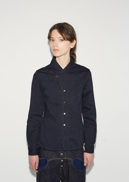 KAPITAL Duke Collar Shirt La Garconne